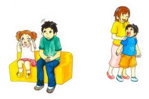 子供への関わり